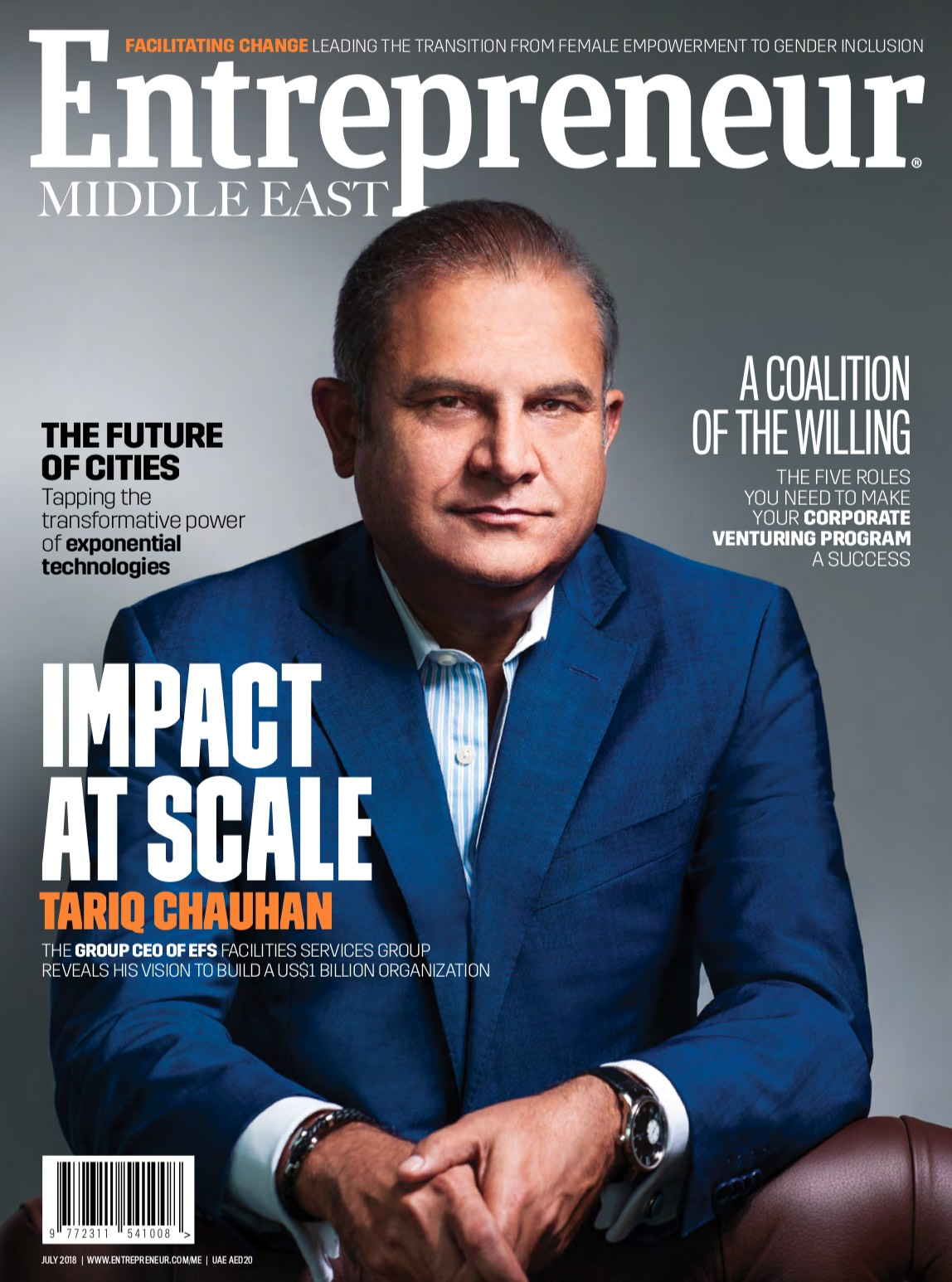 Entrepreneur Middle East Magazine - July 2018
